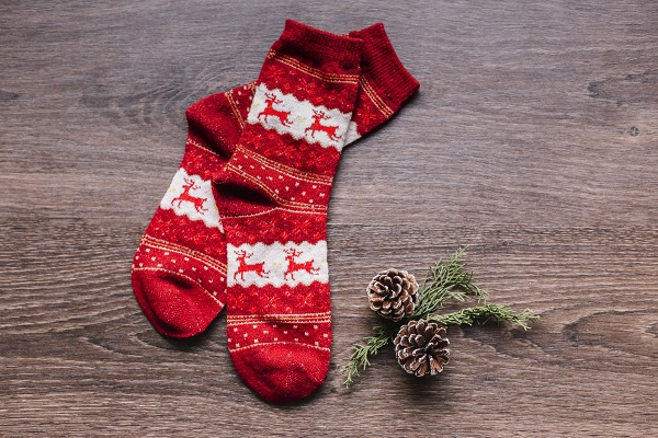 christmas socks, clarity cic blog