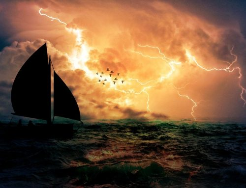 Being kind….  Storms, boats and sinking